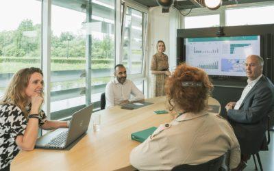 Kantorenoverleg Data-analyse in Power BI